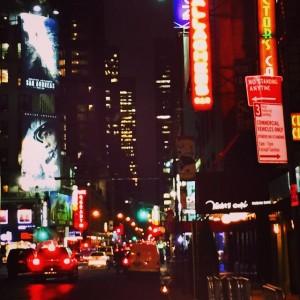 Bright Lights, City Nights #nyc #manhattan #broadway #newyorkcity #nyc #lovethistown