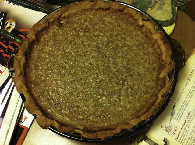 Luscious Brown Sugar Buttermilk Pie