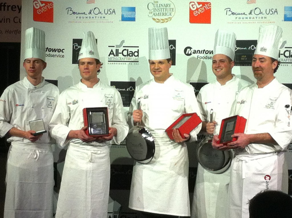 Bocuse D'Or 2012 Finalists