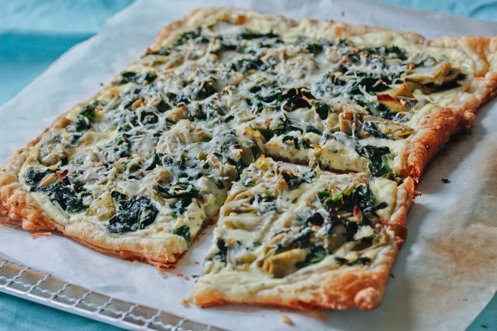 Spinach Artichoke Quiche Spinach Artichoke Ricotta