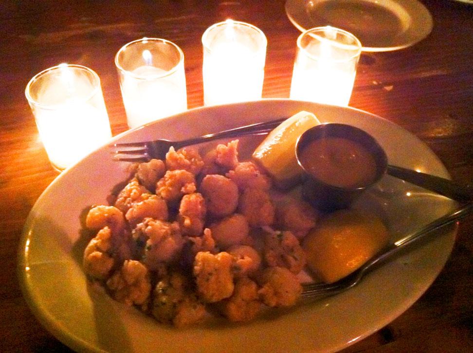 Popcorn Shrimp w/ Chipotle Aioli
