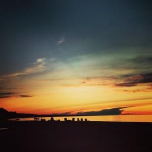 Gorgeous Sunset over Lake Ontario tonight instapic instagood instadaily newyorkhellip