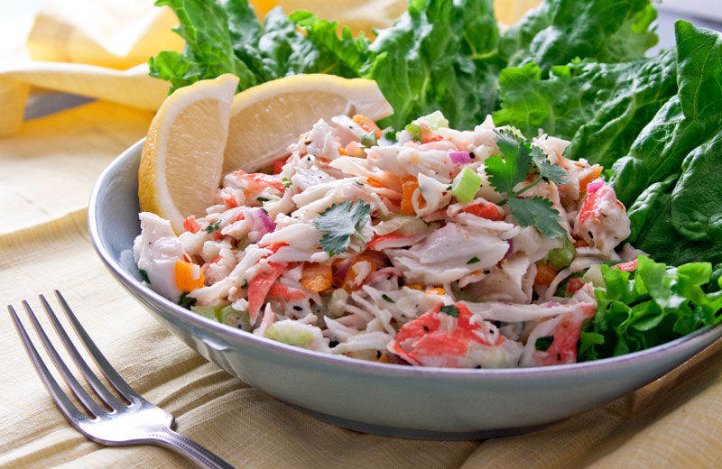 Crab Meat Salad Recipes Refreshingly light get in my bikini salad the ...