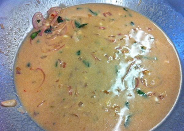 Tamarind Coconut Sauce