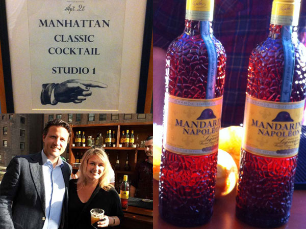 Mandarin Napolean Event at Manhattan Cocktail Classic