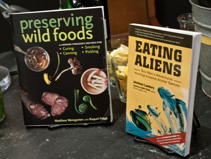 Preserving Wild Foods & Eating Aliens