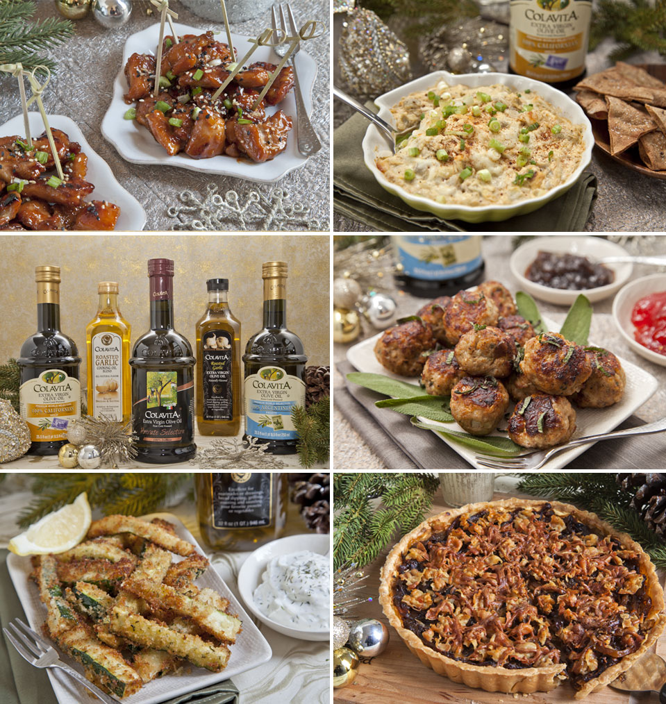 Holiday Appetizer Recipes & Colavita Holiday Giveaway