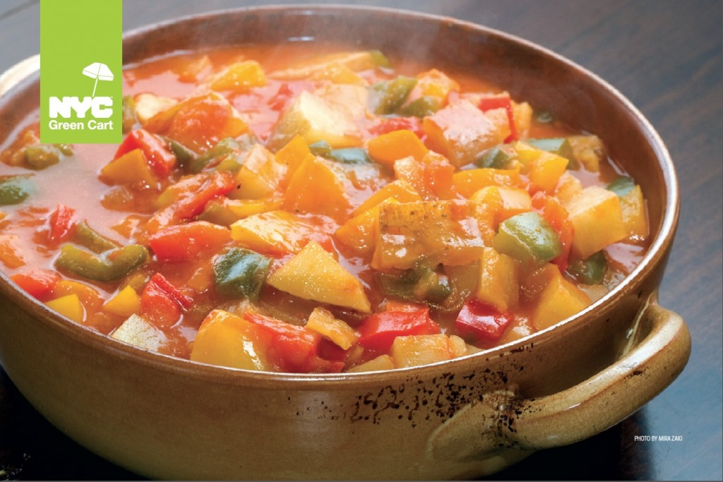 Pepper Potato Stew
