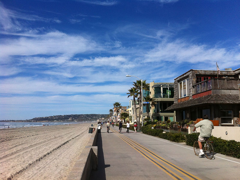 Mission Beach Boardwalk