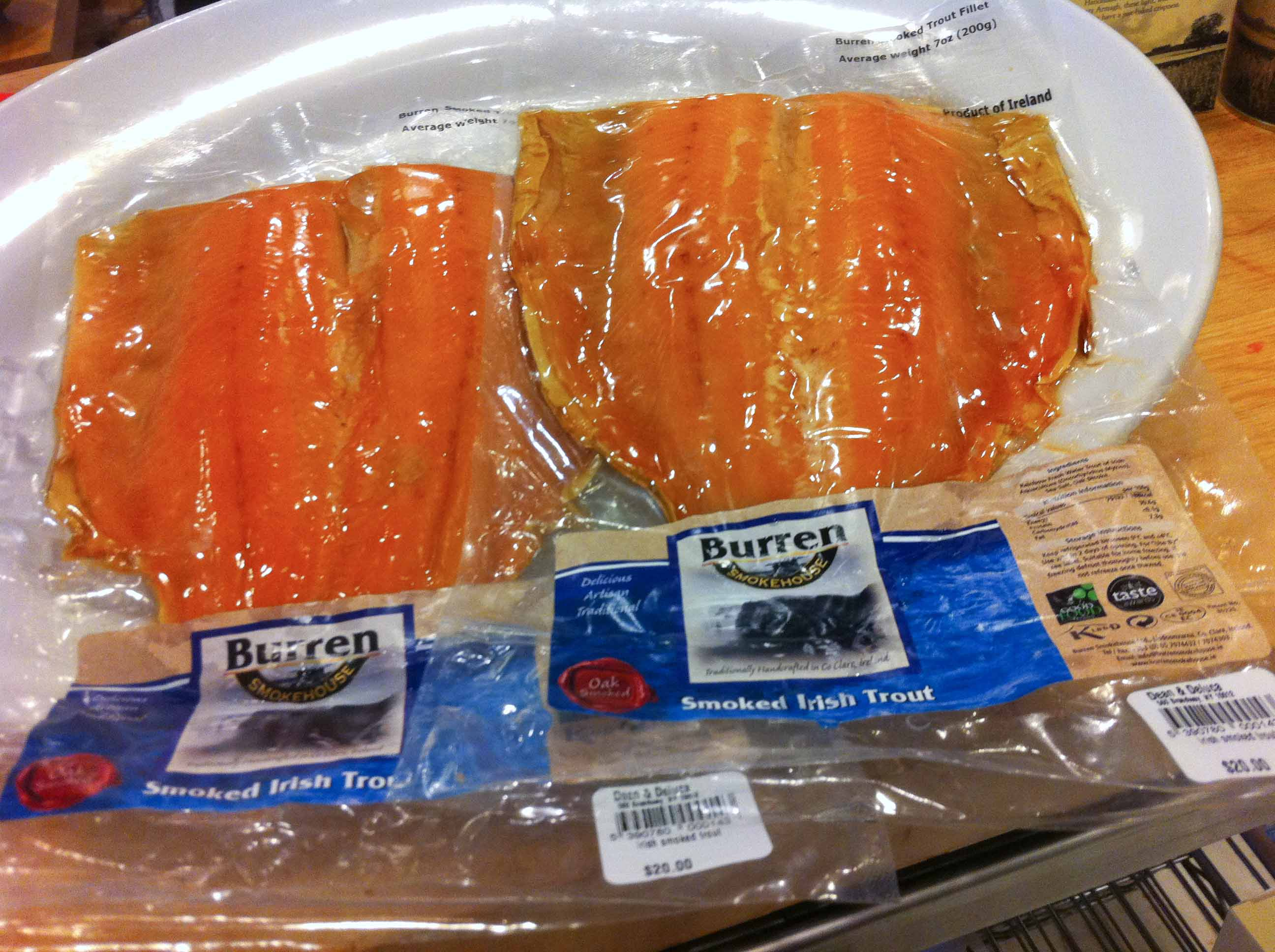 Burren Smoked Salmon & Irish Trout