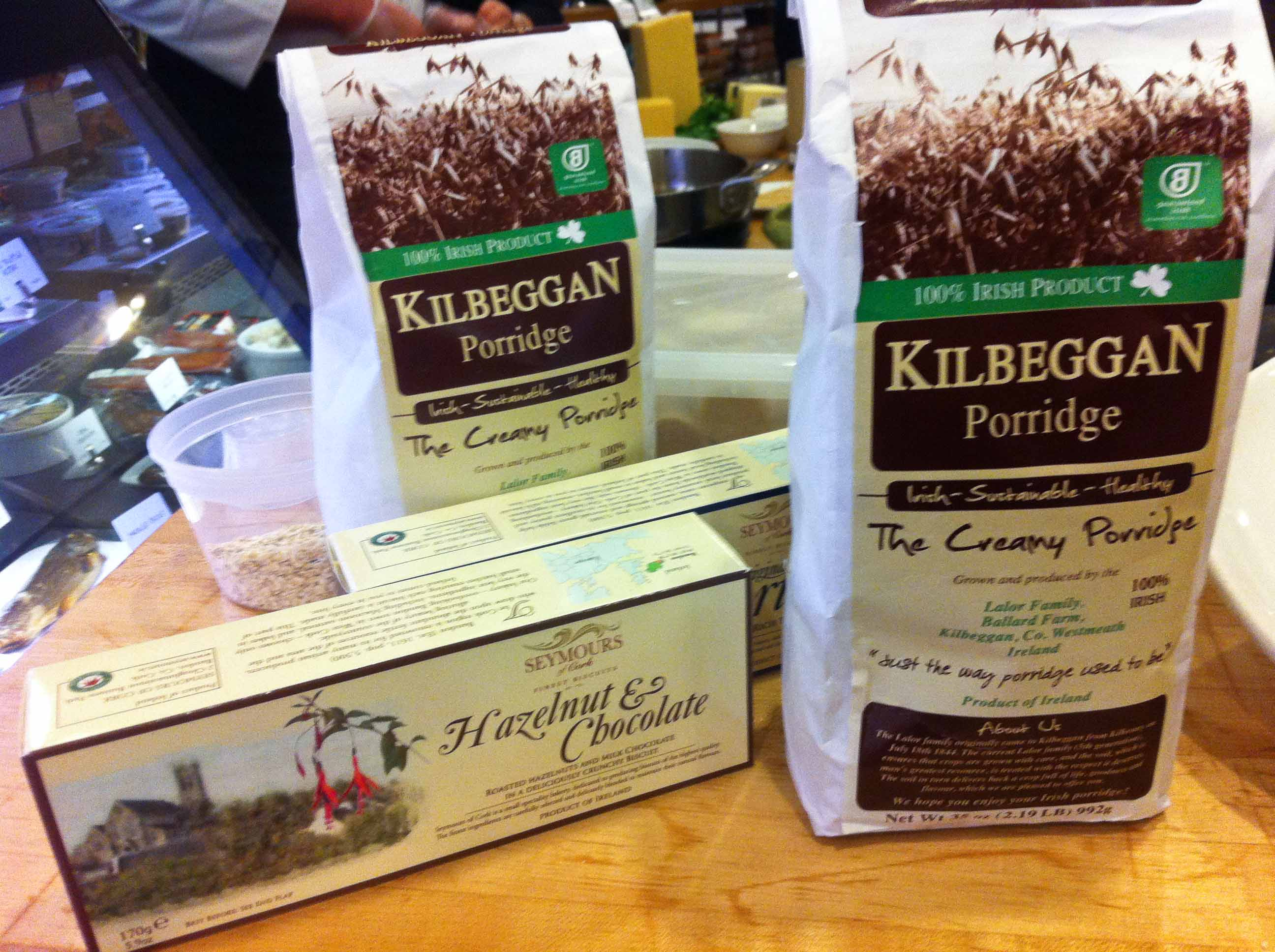 Kilbeggan Irish Porridge & Seymours Biscuits