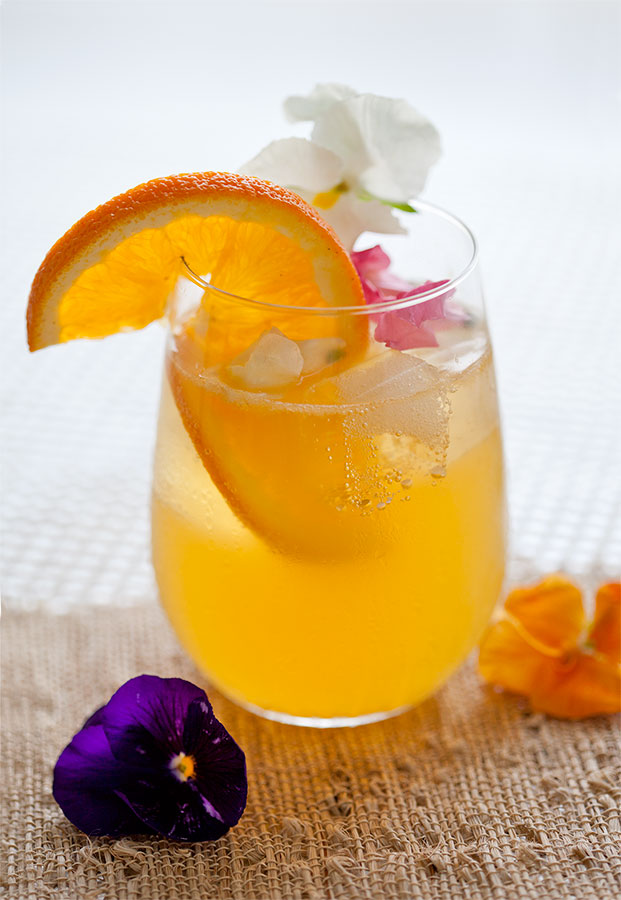 Stoli Ohranj Honey Blossom Cocktail