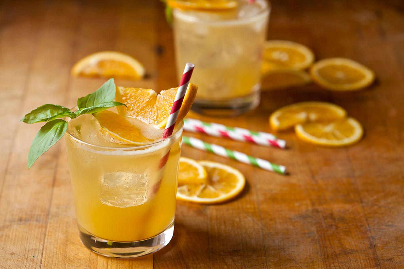 Как сделать коктейль с соком