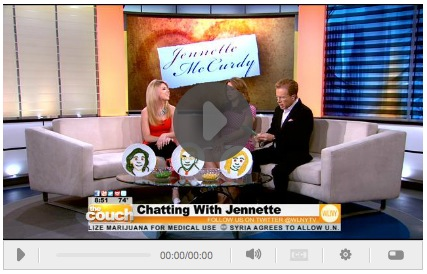 The Couch on CBS Birds Eye Jennette McCurdy Video