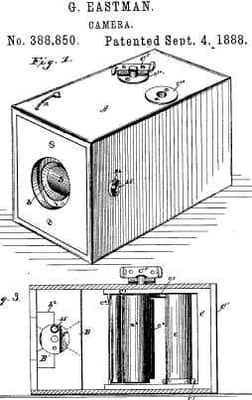 george eastman kodak camera
