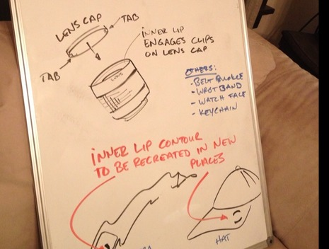 lens cap holder sketch