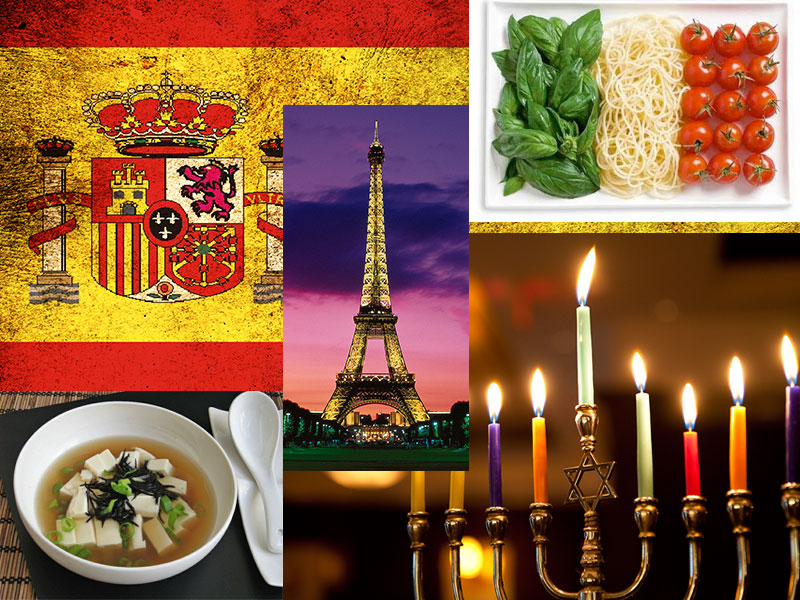 International Holiday Menus