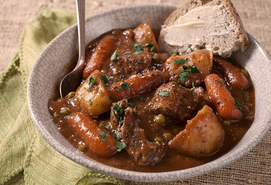 Big Bowl of Comfort :: Irish Stout Beef Stew - The Artful Gourmet ...