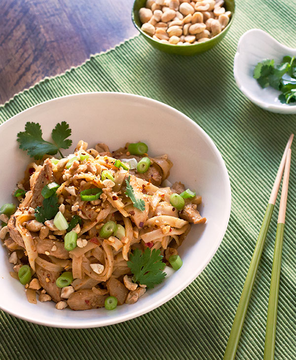 Spicy Thai Chicken Peanut Noodles4