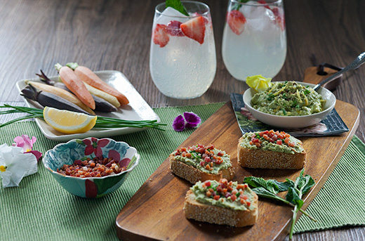 Spring Canapes & Cocktails!