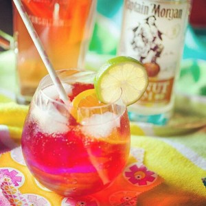 Made a delicious new #Summer #cocktail today with @captainmorganusa #Coconut…