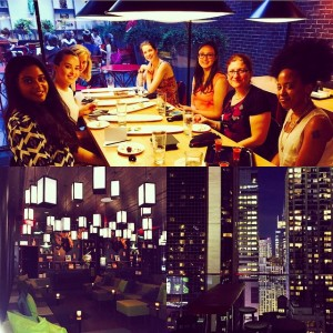 Amazing fun night citizenM nyc At my DineintheDarkNYC event Thankshellip