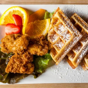 Craving these delish Chicken amp Waffles I shot recently forhellip