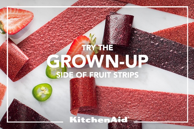 Homemade Fruit Leather with KitchenAid