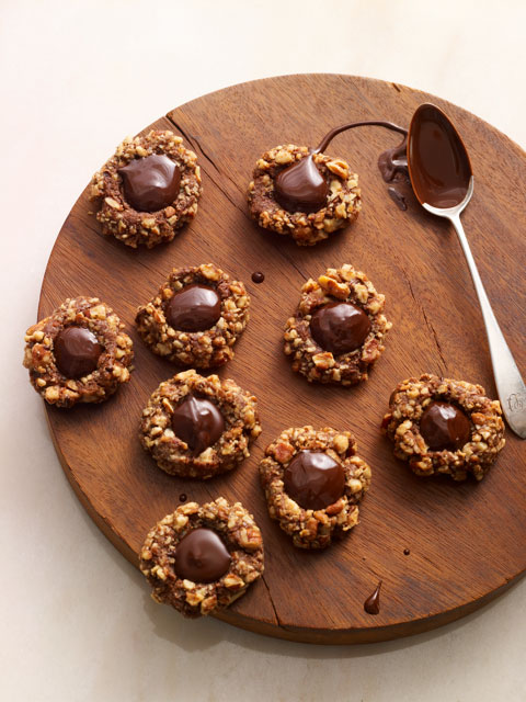 Chic Thumbprint Cookies